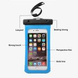 Водоустойчивый мешок на максимум мобильных телефонов 6 дюймов
