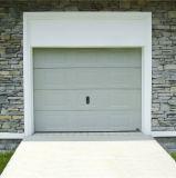 Le doigt protègent la porte sectionnelle automatique à télécommande de garage de qualité de double piste