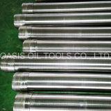 (fabricante) acero inoxidable 304 filtros para pozos del agua de la cuerda de rosca DIN4925/pantallas de Johnson