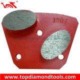 Плиты трапецоида диаманта меля для конкретный полировать пола