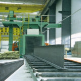 Granaliengebläse-Maschinen-Stahlwand-Reinigung