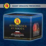 1.4G agglutina i fuochi d'artificio approvati Ce 49shots