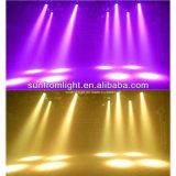 RGBW 4 en 1 luz 37PCS X de la etapa de la barra zoom principal móvil de la colada de 9 W LED
