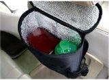 Organizador de assento de carro de preservação de calor, saco de armazenamento de viagem multi-pocket