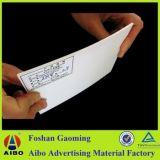 Доска PVC пластмассы свободно пены тонкая для рекламы