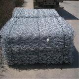 PVCによって塗られる製造された六角形の鉄条網