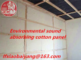 Poliéster Fibra Insular Cobertura Lã para Escola Painel Acústico Painel de parede Painel de teto