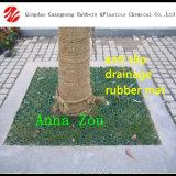 Используется против скольжения резиновый коврик для травяных культур для установки вне помещений