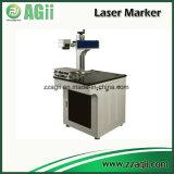 중국에서 컨베이어를 가진 20W 섬유 Laser 조각 기계