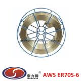 Медный Coated провод заварки Er70s-6 MIG