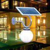 Indicatore luminoso esterno solare del LED con il comitato del monocristallo