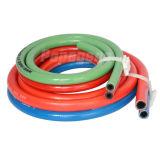 Boyau à haute pression de l'oxygène de PVC