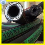SAE 100 R2 de canalización de aceite hidráulico