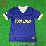 Qualquer cor impressa camisetas com impressão por sublimação completa para Desgaste Traing