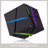 Bunter magisches Quadrat mini beweglicher drahtloser Bluetooth Subwoofer Lautsprecher