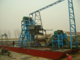 Minieisen-Sand-Absaugung-Bagger für Meersand-Grube
