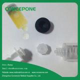Plastic cosmetico Syringe con Luer Lock Caps 20ml