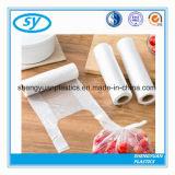 Sacs frais plats de conditionnement des aliments de HDPE sur le roulis