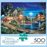 De Dagen van spelen om - het Geheugen van de Herfst - de Puzzel van 500 Stuk te herinneren