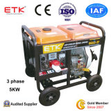 낮은 연료 소비 유형 디젤 엔진 발전기 (DG6LE-3P)