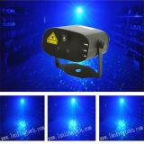 Mini luce laser 200MW GB 12 Gobos e 3W Blue LED Light con Remote Control