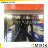 Plataforma do estacionamento do carro de borne quatro com 2 espaços