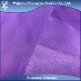 Tessuto con acuto del raso spazzolato poliestere per il sacchetto/indumento