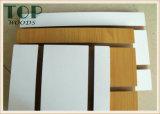4*8 6/9/12/15/18m m ranurados/acanaló a MDF de la melamina para la decoración