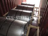 Bobina de acero cubierta Aluzinc de la placa de acero de la impresión de G550 Antifinger/de la tira de Gavalume