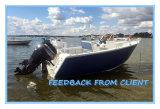 рыбацкая лодка плиты пульта 5m бортовая с двойными перезвонами