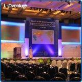 Visualizzazione di LED dell'interno di evento di mostra di colore completo