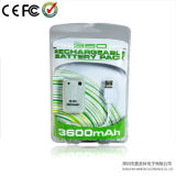 3600mAh Rechargeable Battery voor xBox 360 Wireless Controller