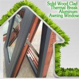 Окно сетки обеспеченностью нержавеющей стали верхнее повиснутое алюминиевое, окно тента типа Америка высокого качества алюминиевое для виллы