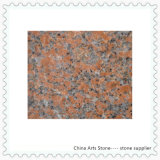 中国のかえでの建物の装飾のための赤い花こう岩の平板そしてタイル(G562)