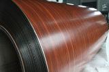 Bobina de aluminio Color-Revestida del modelo de madera
