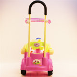 China Factory Kids Ride on Toy Swing Car com Push Bar Wholesale