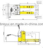 [2ت] كهربائيّة شاحنة منصّة نقّالة مع مقياس
