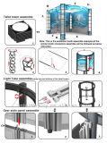 쉬운 Setup 3X6m Aluminum Booth (LT-ZH012)