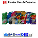 Saco de embalagens plásticas para os detergentes/ Detergente líquido Shampoo/Fabric Cleaner