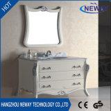 Vanità diritta del dispersore della stanza da bagno del pavimento di alta qualità con lo specchio