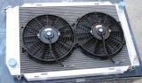Radiador de aluminio de alto rendimiento con el ventilador