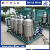 Machine contenant de l'huile de traitement des eaux résiduaires