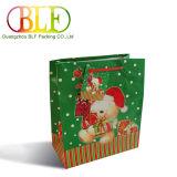 Custom популярных рождественских подарков бумаги сумка Магазинов