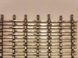 Rete metallica unita del collegare piano