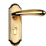 Bouton de porte de l'or en or rose le revêtement de la machine vide