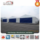 Barraca branca 30 x 30m do hangar dos aviões do PVC/hangar do avião para o exército militar