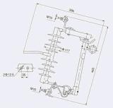 Guoen lassen heraus Sicherung-Unterbrecher-/Sicherung-Link-/Bruch-Schalter im FreienHrw12-15-100A fallen