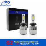 2017 Plus lumineux H7 S2 LED Phare 8000lm Plug and Play LED Auto phare