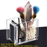 Clear Plastic Acrylic Cosmetics Brush Pot Wholesale