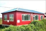 Chambre préfabriquée moderne de structure métallique de lumière de type (KXD-V3)